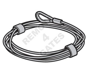 Steel cable HÖRMANN Ø 3 mm L = 6250 3064362