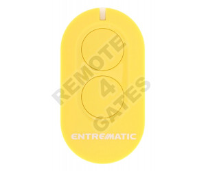 Remote control ENTREMATIC ZEN2 yellow