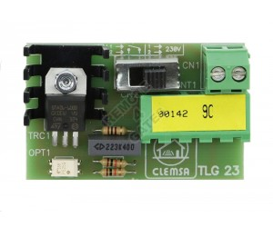 Card of light CLEMSA TLG 23