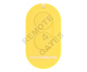 Remote control ENTREMATIC ZEN2 yellow