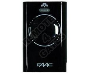 Remote control FAAC XT4 868 SLH Black
