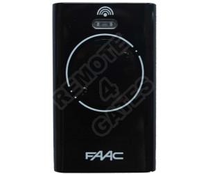 Remote control FAAC XT2 868 SLH Black