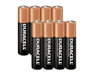 Batterie pack Duracell  AAA