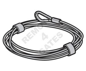 Steel cable HÖRMANN Ø 4 mm 3095589 10 m